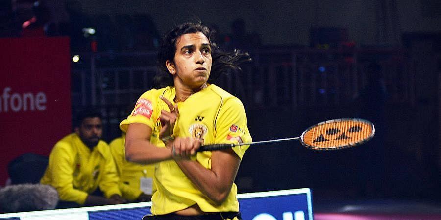 Indian badminton star PV Sindhu