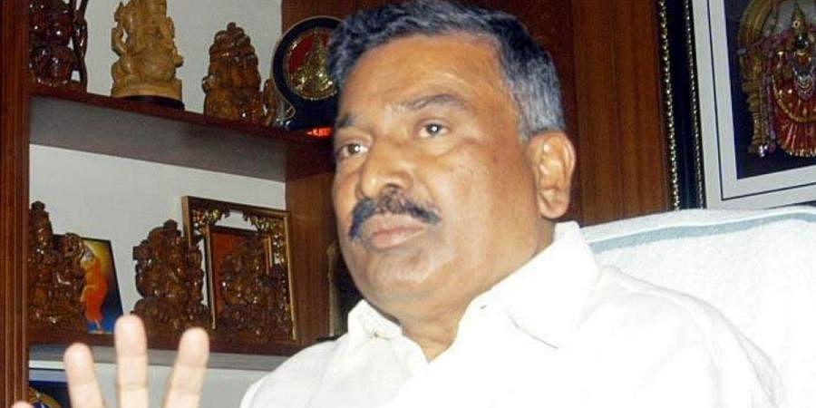 Andhra Pradesh Geology minister Peddireddy Ramachandra Reddy