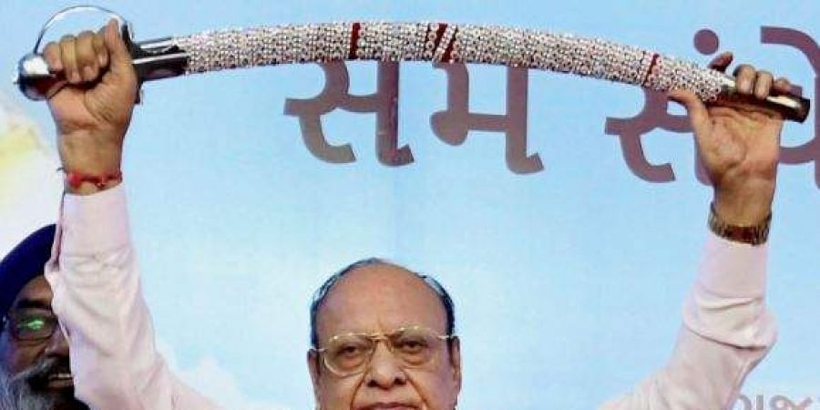 Former Gujarat CM Shankersinh Vaghela. (Photo| PTI)