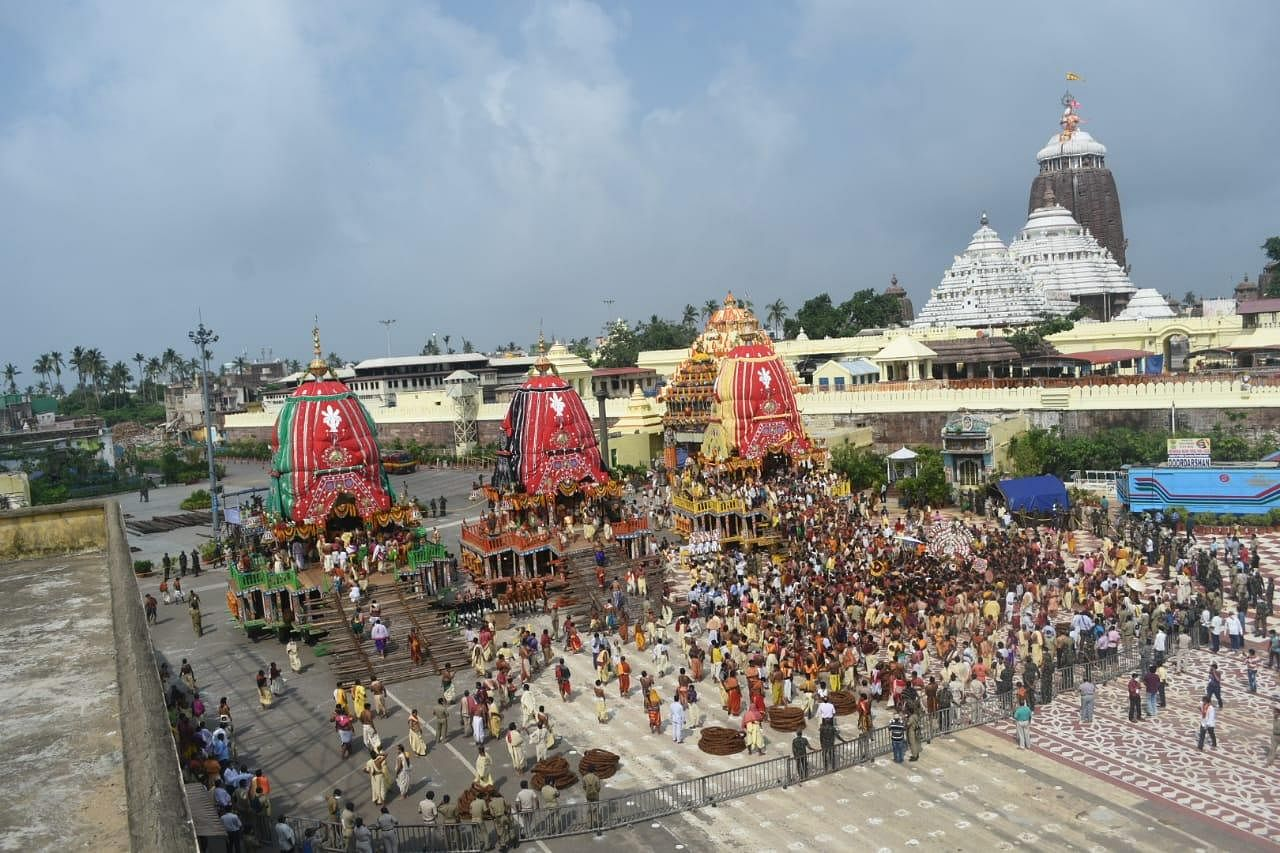 Modifying its earlier order, the Supreme Court gave the go-ahead for the Rath Yatra after taking note of the Odisha government's assurance that it 'can be held in a limited way without public attendance'. The court imposed strict restrictions during the festival that include closure of all entry points to the city of Puri, airport, railway station and bus stands along with curfew on all days and during the time when the chariots are taken in procession.