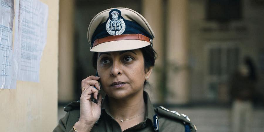A still from Netflix series 'Delhi Crime'.