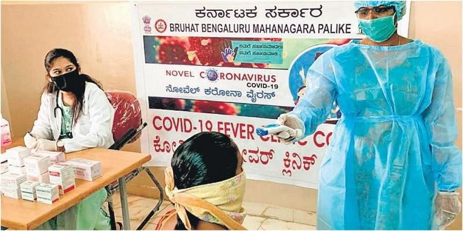 A fever clinic operational within BBMP limits in Bengaluru