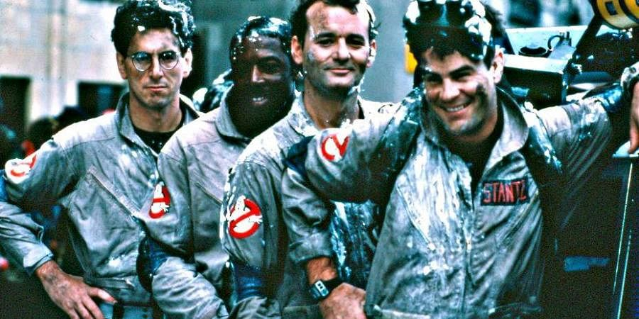Ghostbusters - Arguably, the most popular (and commercially successful) film of Bill Murray, Ghostbusters (1984) is about three parapsychologists - Peter Venkman, Raymond Stanz and Egon Spengler played by Murray, Dan Aykroyd and Harold Ramis respectively, searching for paranormal activity.