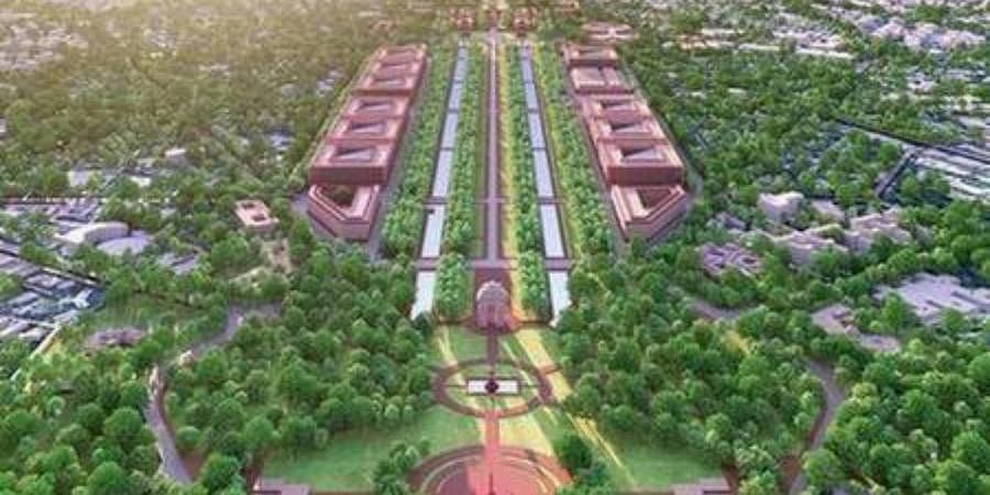 The design for 'Central Vista' project