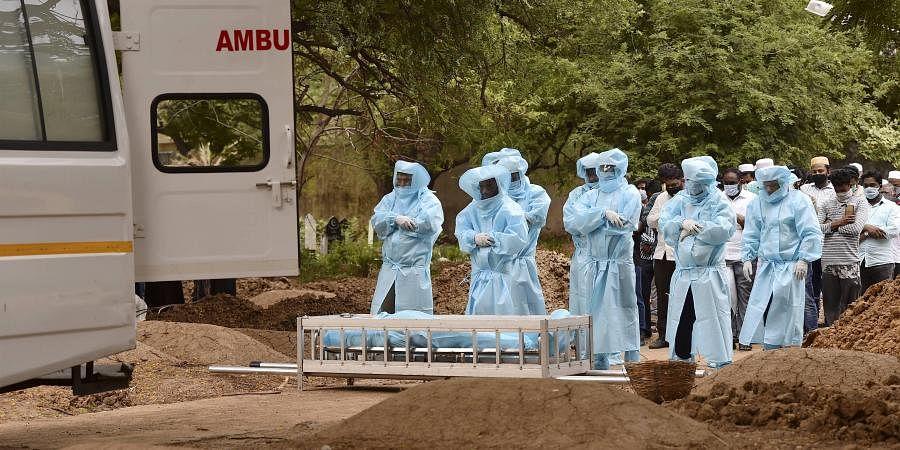 coronavirus, burial, death