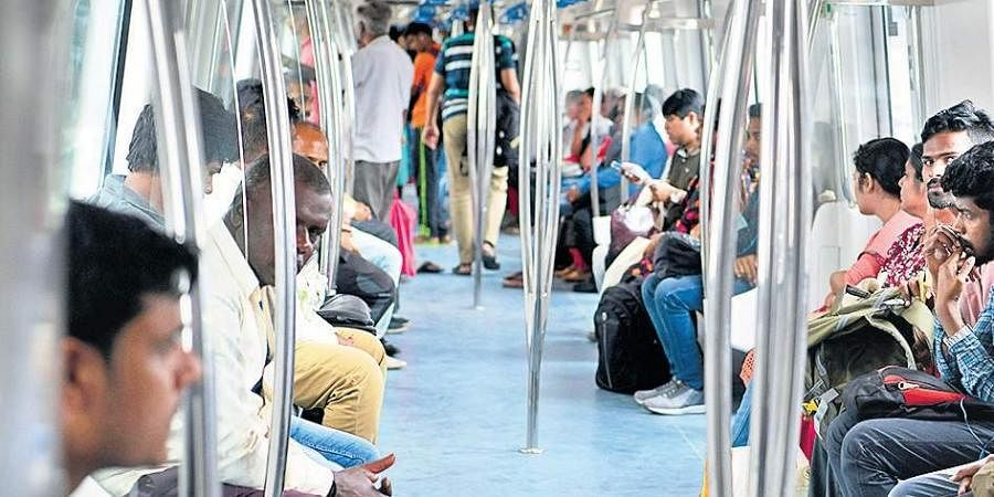Namma Metro has ferried a total of 41,51,45,053 commuters till September this year. The Dasara weekend helped it touch its highest ever ridership of 4,64,649 on October | Express