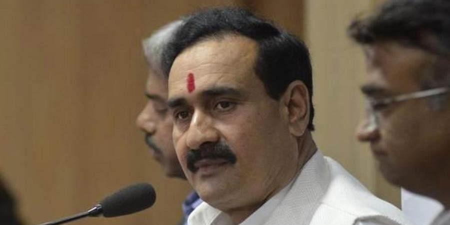 Madhya Pradesh Home Minister Narottam Mishra