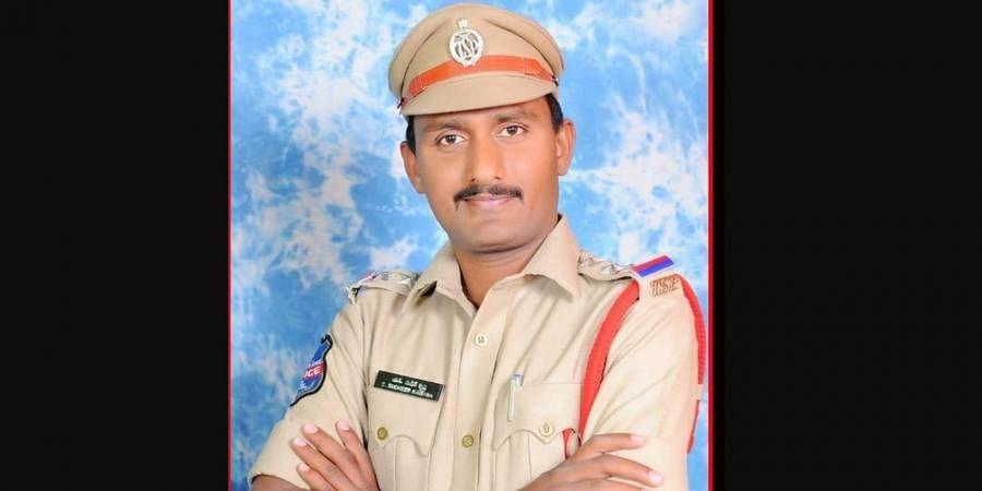 Detective inspector S Sudheer Krishna