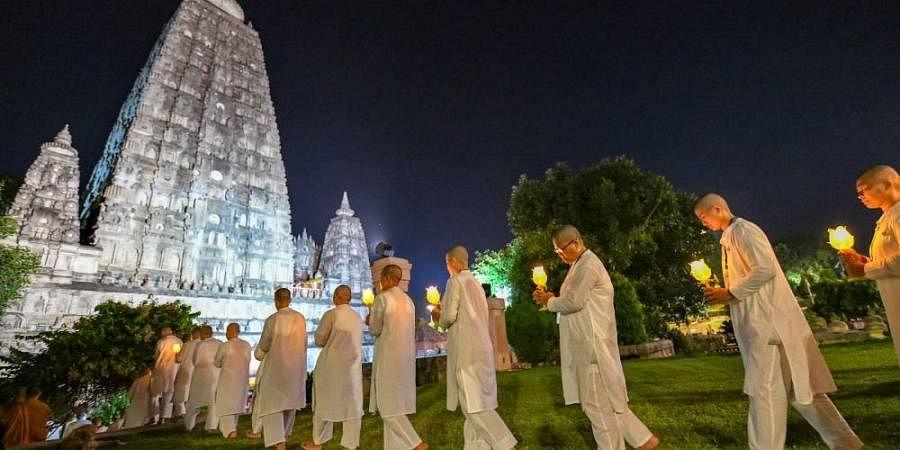 Bodh Gaya, Mahabodhi temple