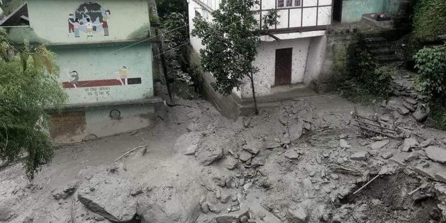 Sikkim flash floods