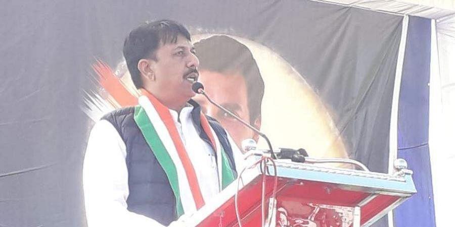 Congress unit president Amit Chavda