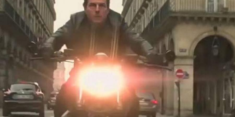 Tom Cruise in 'Mission Impossible 6'