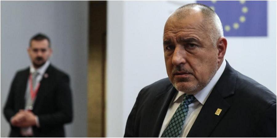 Bulgaria's Prime Minister Boyko Borissov