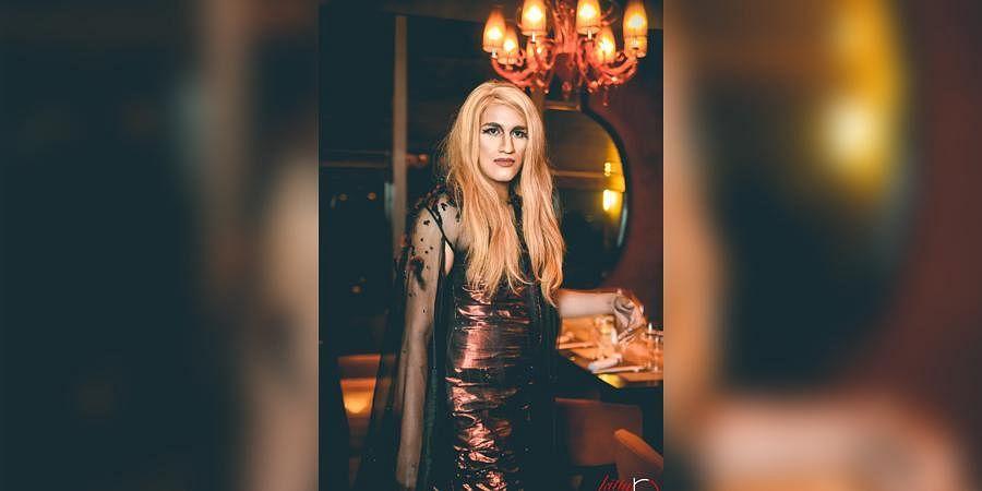 Alex Mathew aka Drag Queen Maya