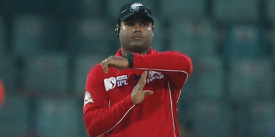 ICC Elite Panel'syoungest umpireNitin Menon