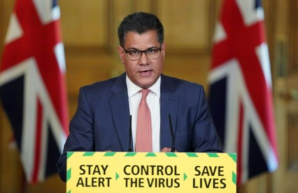 UK minister Alok Sharma tested for coronavirus after feeling unwell at House of Commons