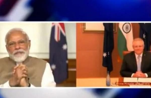 PM Modi holds virtual summit with Australian counterpart, pitches collaborative approach against COVID-19