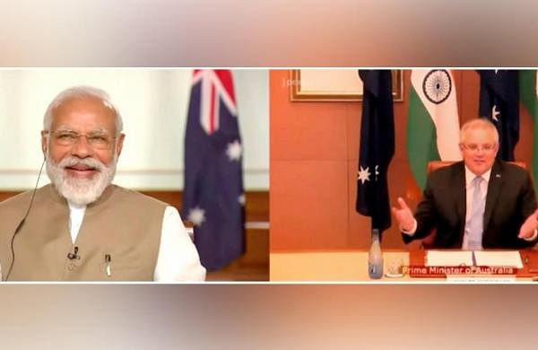 India, Australia sign defense, trade deals to bolster ties