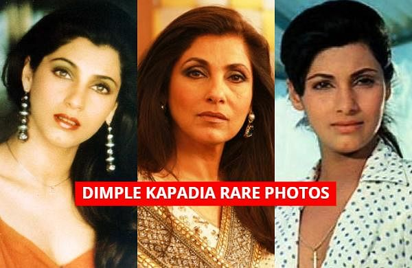 As Bollywood star Dimple Kapadia turns a year older today, let us take a look at some of the rare photos of the 'Bobby' actress.