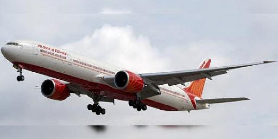 An Air India Boeing 777 aircraft