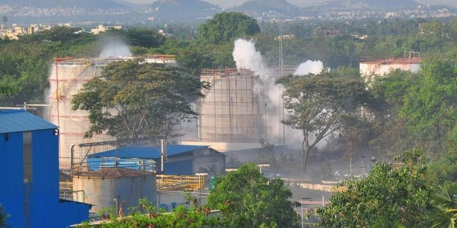 Gas leak from LG polymers created panic in Venkatapuram and five other villages in the wee hours on May 7