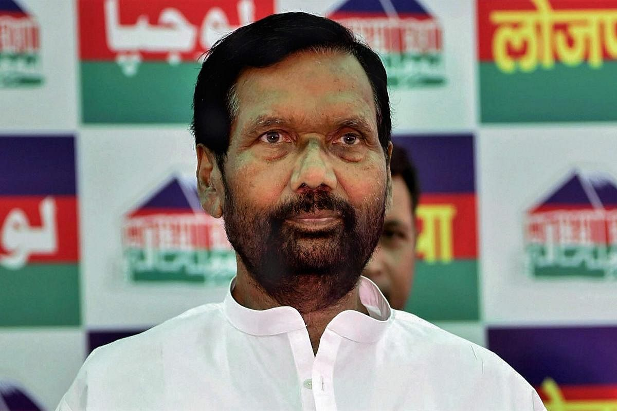 Ladakh Standoff No Chinese Goods In Food Ministry Now Says Ram Vilas Paswan The New Indian Express