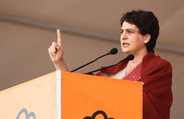 Priyanka Gandhi Vadra hits out at UP govt over law and order situation in state