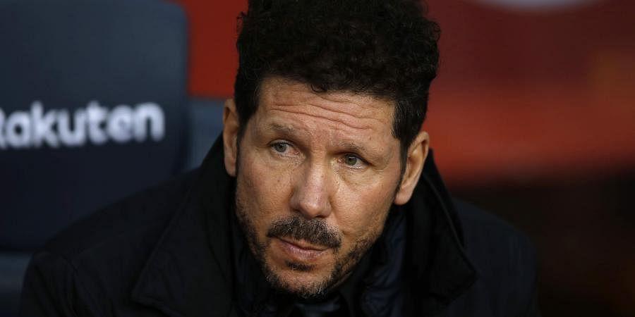 Atletico Madrid gaffer Diego Simeone | AP