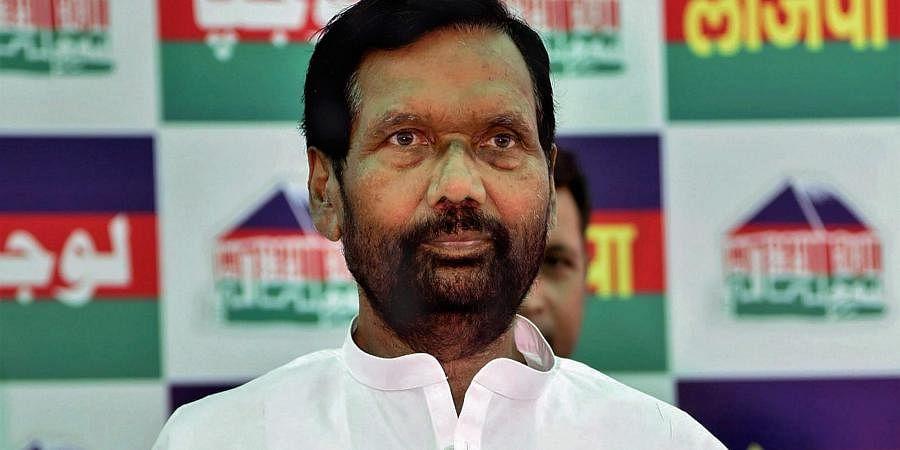 Union Minister Ram Vilas Paswan