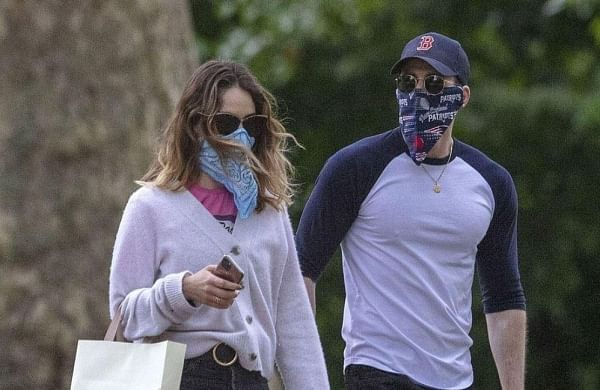 Chris Evans, Lily James spotted enjoying ice cream in London- The ...