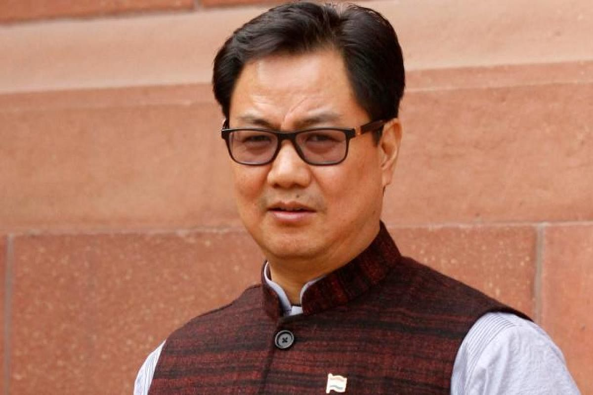 Kiren Rijiju to have meeting with state ministers- The New Indian Express