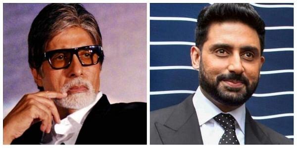 Bollywood icon Amitabh Bachchan  and his son abhishek Bachchan tesed positive on Saturday. (Photo | PTI)