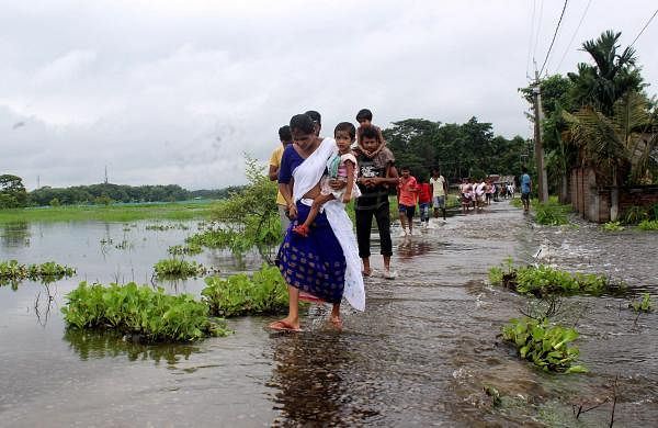 Assam flood: Nine more dead, over 32.94 lakh people affected