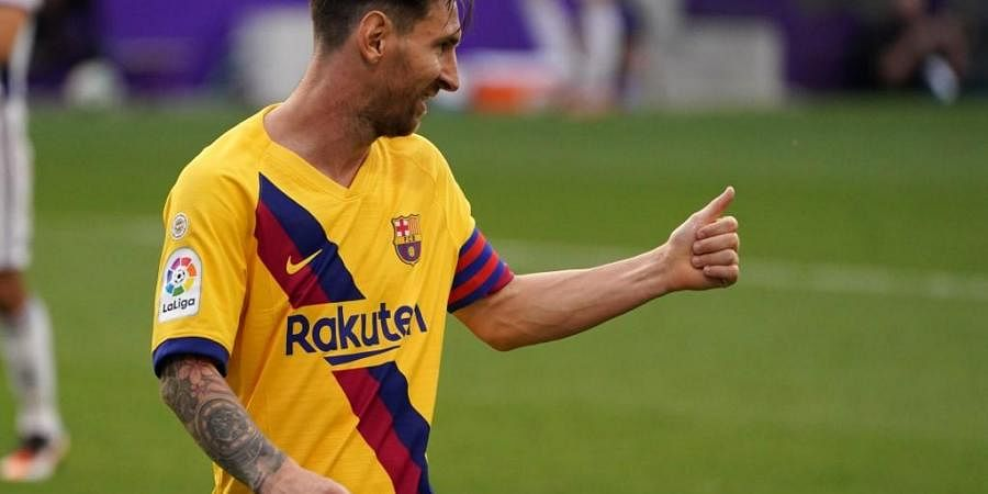 Argentina Coach Glad Leo Messi Resolved Barcelona Issues The New Indian Express