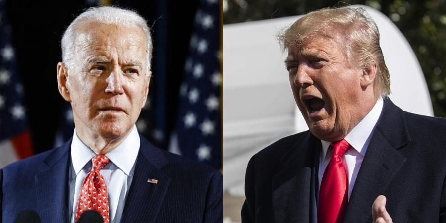 Trump, Biden try to outdo each other on tough talk on China- The New Indian  Express
