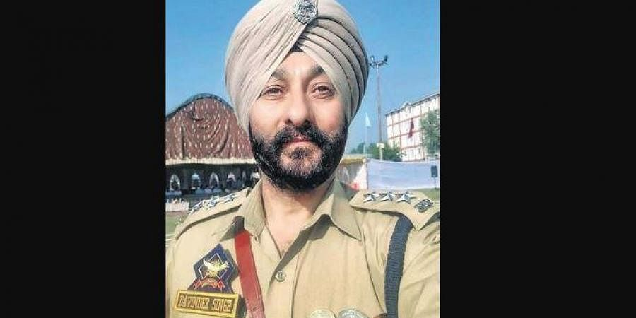 Disgraced DSP Davinder Singh