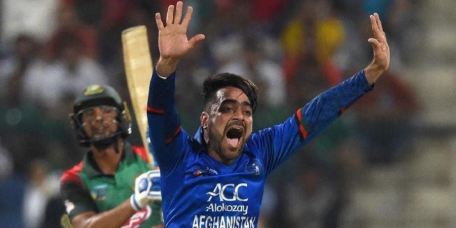 Afghanistan leg-spinner Rashid Khan
