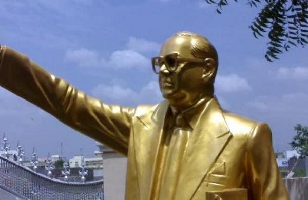 Ambedkar statue desecrated in Sihor in Gujarat's Bhavnagar