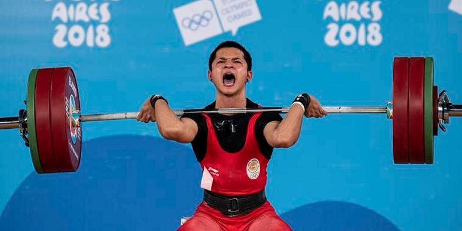 India weightlifter Jeremy Lalrinnunga