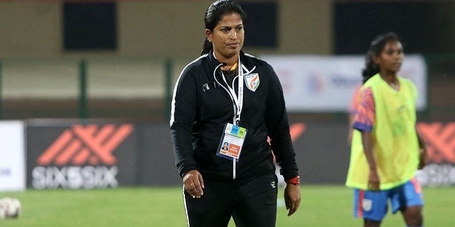 Indian women's football team coach Maymol Rocky