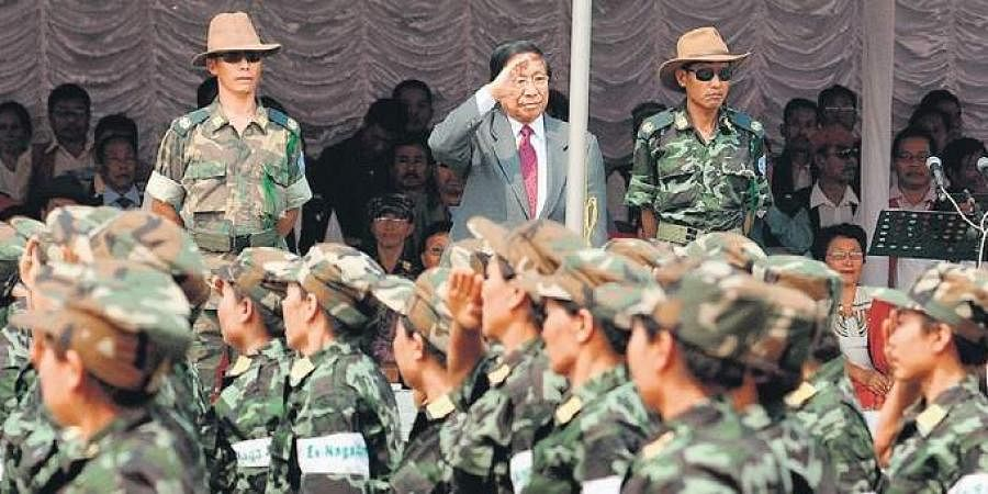 Naga group National Socialist Council of Nagalim (NSCN-IM)