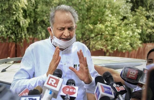 Pilot involved in horse trading with BJP, says Ashok Gehlot