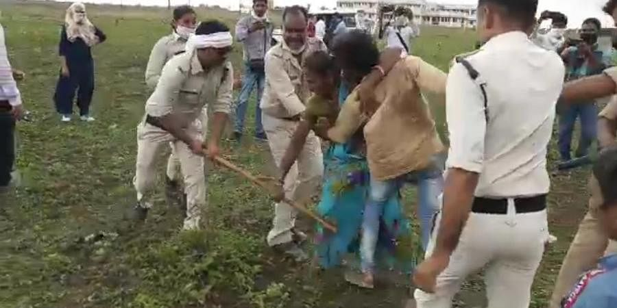 The Dalit couple was assaulted by police on Tuesday.