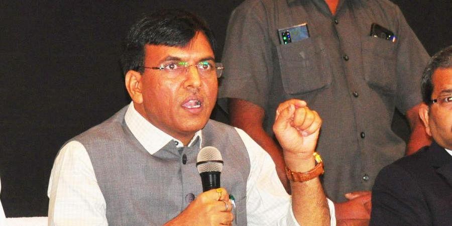 Union Shipping Minister Mansukh Mandaviya