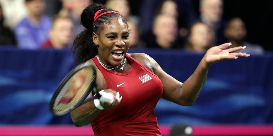 Twenty three-time Grand Slam champion Serena Williams