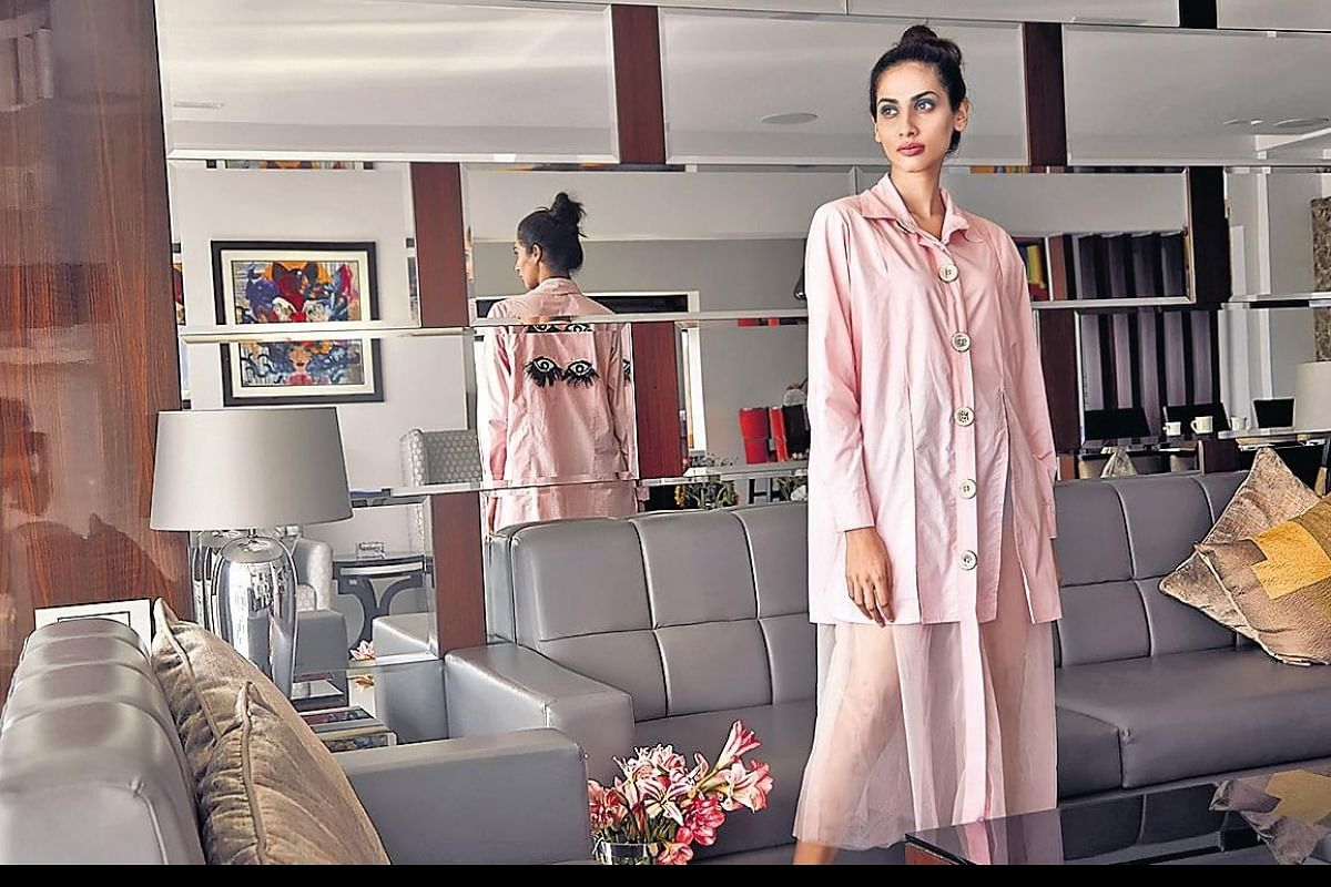 Comfortable And Chic Check Out Designer Maheka Mirpuri S Rainforest Escape Collection The New Indian Express
