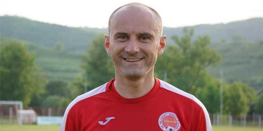 Bosnian footballer Bojan Regoje