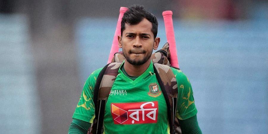 Former Bangladesh captain Mushfiqur Rahim