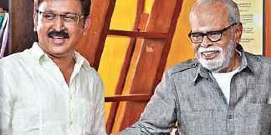 Ramesh Aravind and K Balachander from Uttama Villain