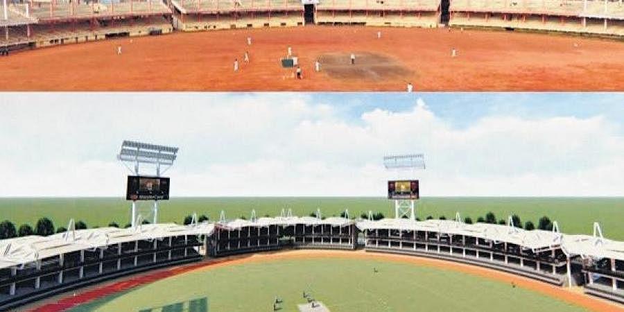Conceptual design of Indira Gandhi Municipal Corporation Stadium
